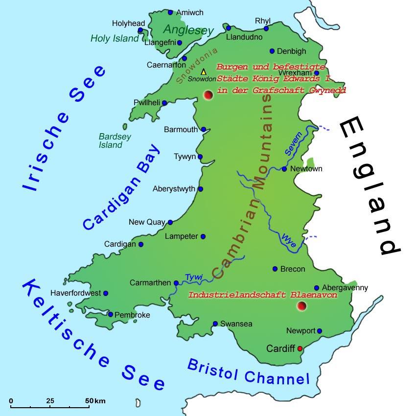 Wales Sehenswurdigkeiten Lander Wales Goruma