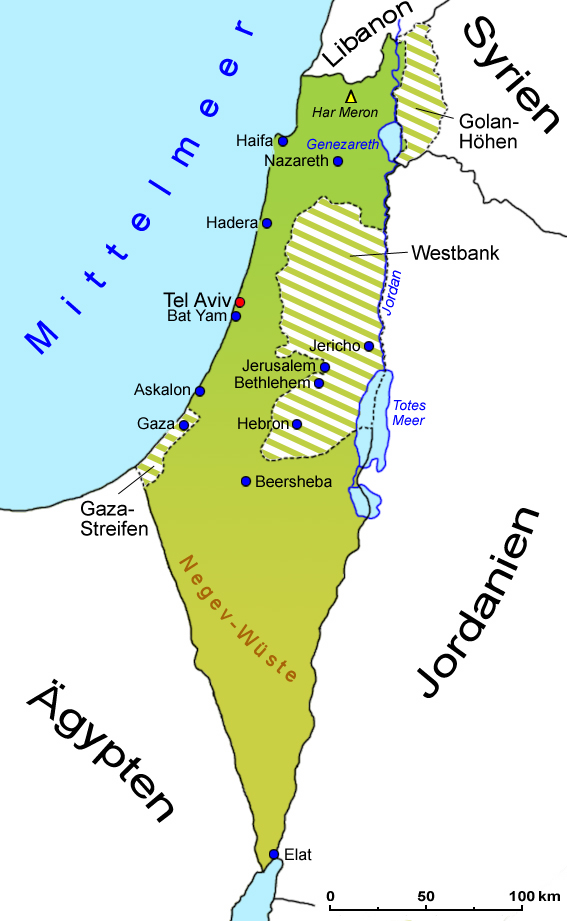 Syrien landkarte israel Syrien Karte