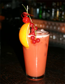 Planters Punch (Rum) | Service | tails mit Alkohol | Goruma on