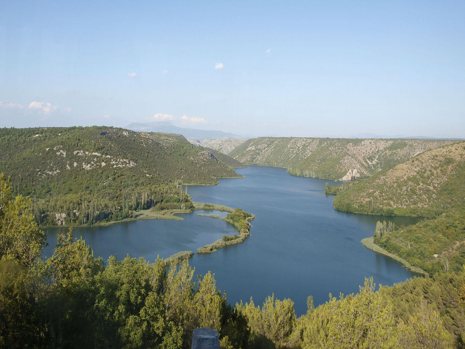 Flüsse Kroatien