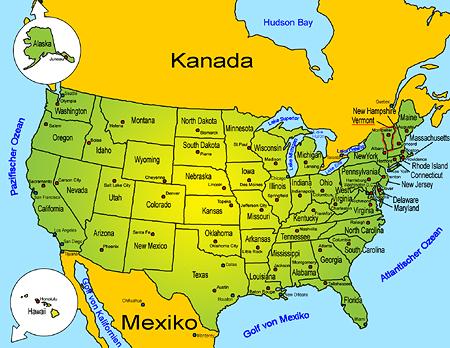 Vermont   Länder   Sehenswürdigkeiten   Goruma