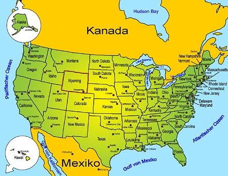 Wyoming   Länder   Sehenswürdigkeiten   Goruma