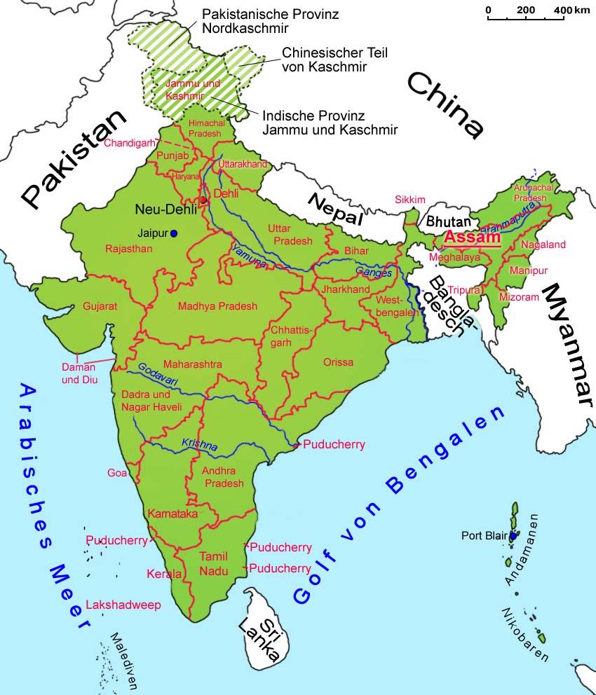 Bundesstaat In Indien