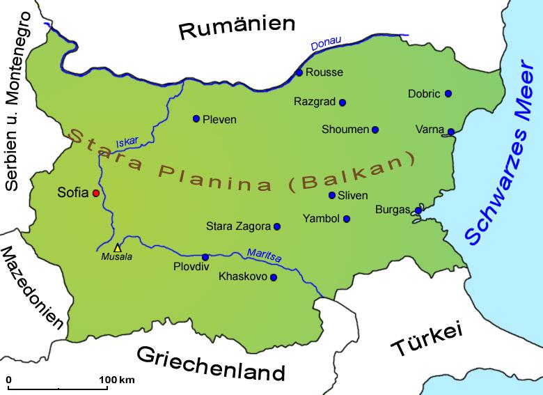 bulgarien landkarte Bulgarien: Landkarte | Länder | Bulgarien | Goruma bulgarien landkarte