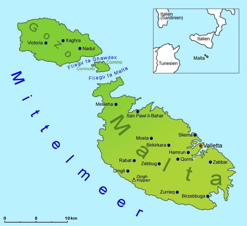 landkarte malta Malta: Landkarte | Länder | Malta | Goruma landkarte malta