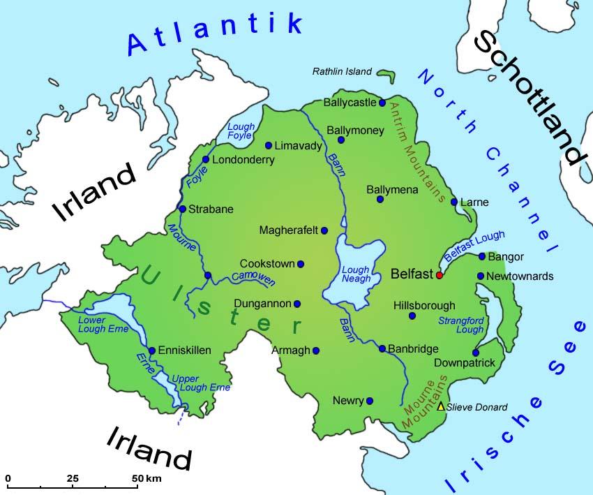 nordirland - deutschland