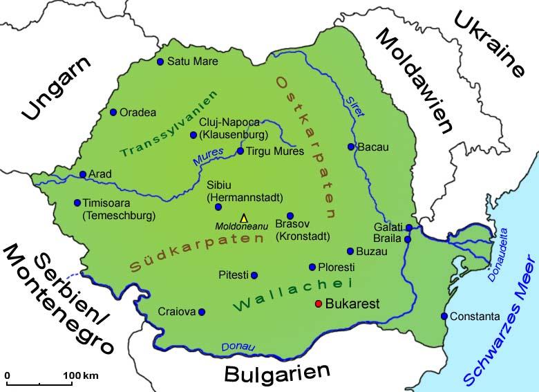 rumänien landkarte Rumänien: Landkarte | Länder | Rumaenien | Goruma rumänien landkarte