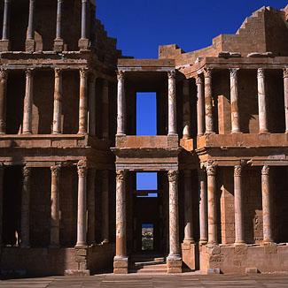 Hafenstadt Libyen