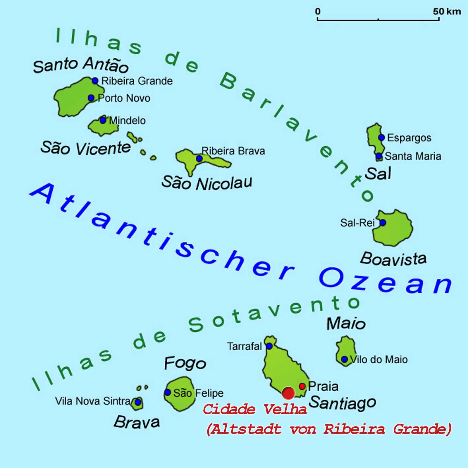 kapverden karte Kap Verde: Sehenswürdigkeiten | Länder | Kapverdische Inseln | Goruma