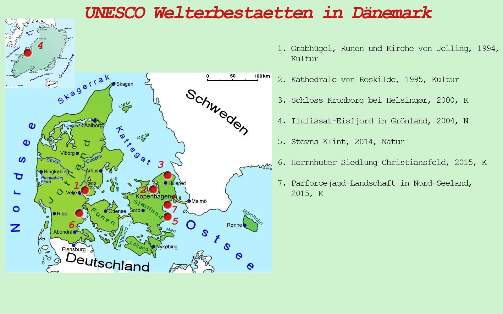 dänemark sehenswürdigkeiten karte Sehenswürdigkeiten | Länder | Dänemark | Goruma dänemark sehenswürdigkeiten karte