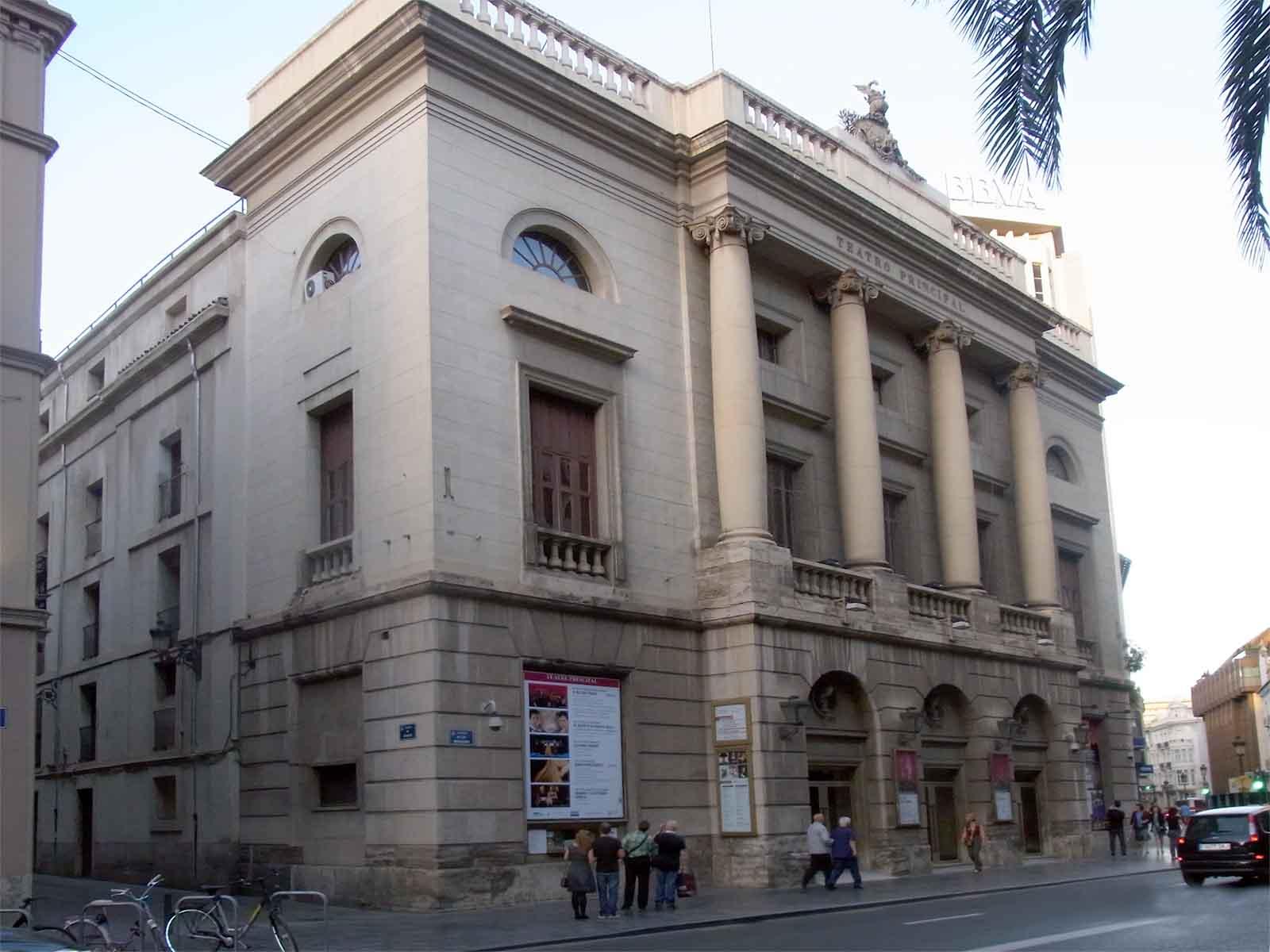 Sehensw rdigkeiten st dte valencia goruma for Teatro principal valencia