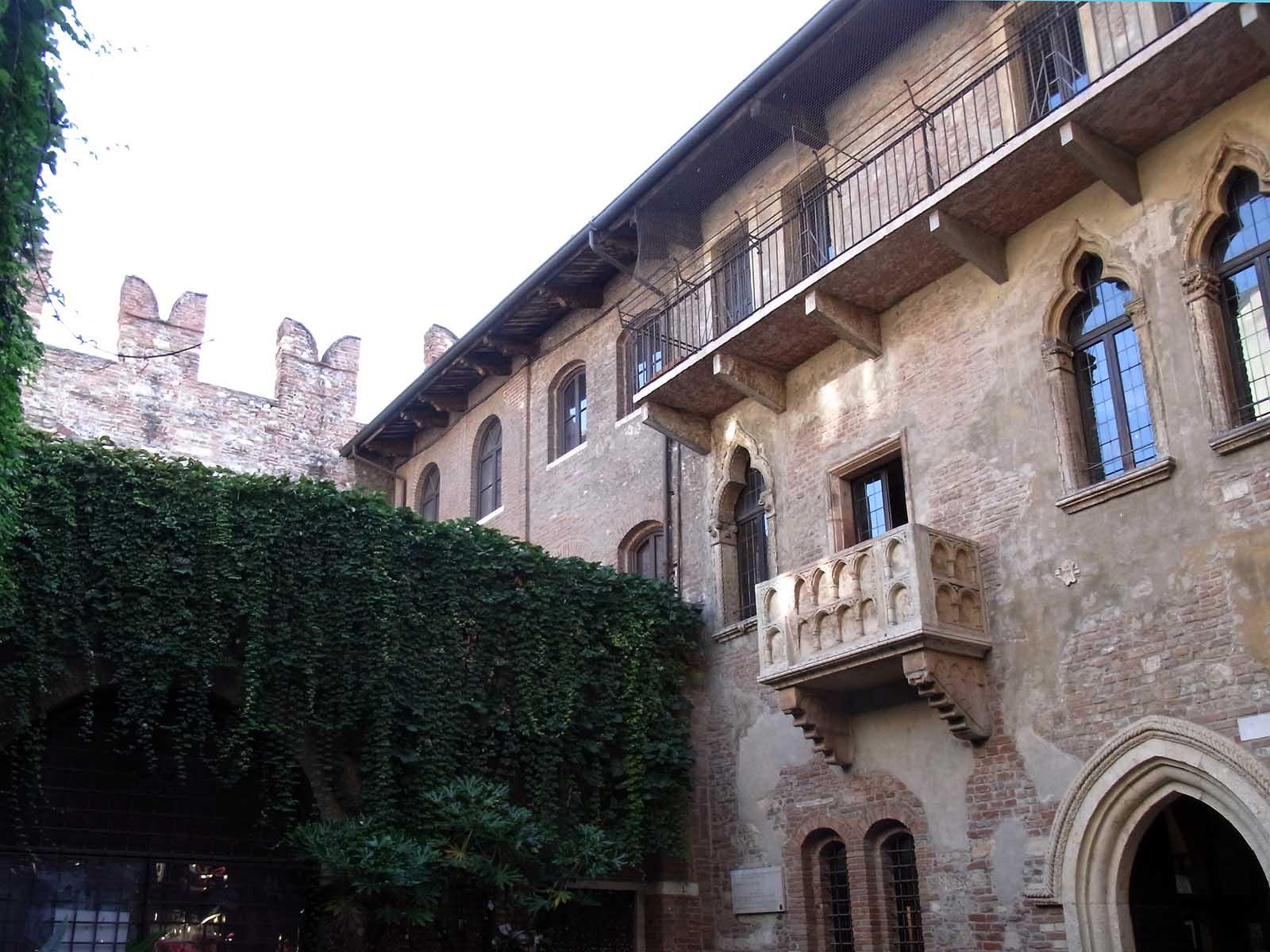 Balkon Romeo Und Julia Verona Vr Italien Hylen Maddawards Com