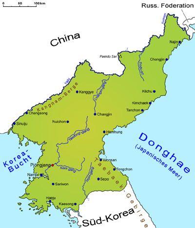 nordkorea landkarte Nordkorea: Landkarte | Länder | Nordkorea | Goruma nordkorea landkarte