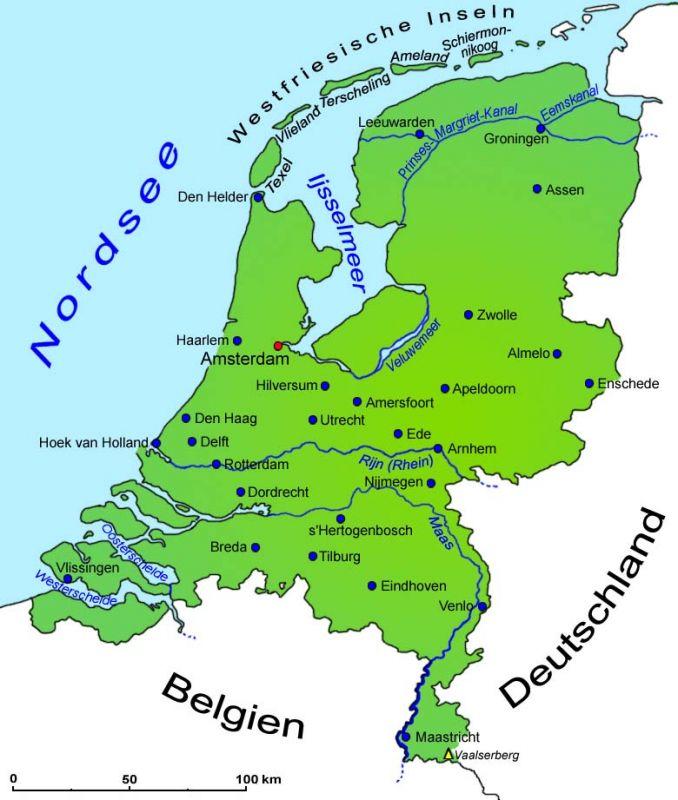 Grenzen Deutschland Niederlande